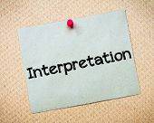 pic of interpreter  - Interpretation Message - JPG