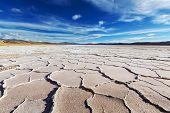 pic of salt mines  - Salt desert in the Jujuy Province - JPG