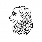 image of lions-head  - Lion head tattoo or logo - JPG