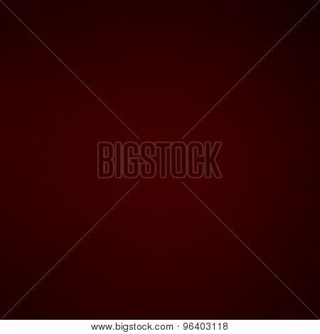 Red  Defocused Smooth Vintage Background. Festive Christmas Elegant Abstract Background