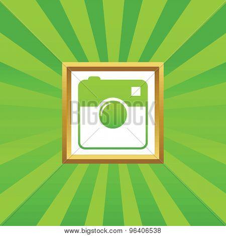 Square camera picture icon
