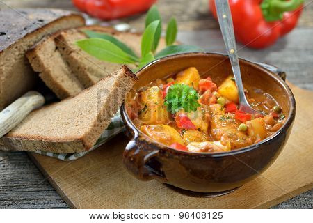 Potato goulash