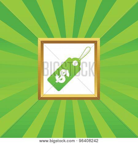 Dollar price picture icon