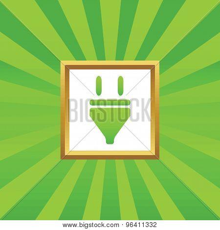 Plug picture icon