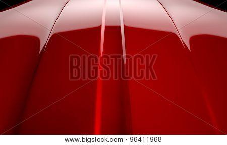 Car Contour Cherry Red