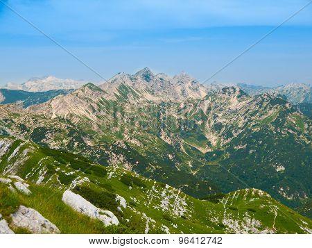 Peaks of Julian Alps