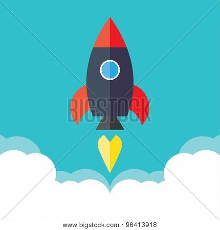 rocket startup concept project development