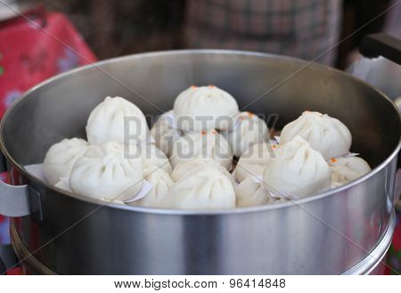 Steamed Stuff Bun