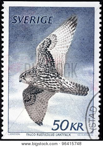 Gyrfalcon Stamp