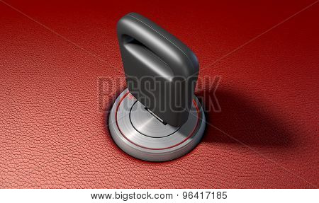 Car Key In Ignition