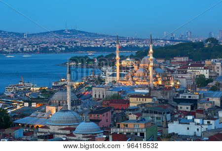 Beautiful View Of Istanbul
