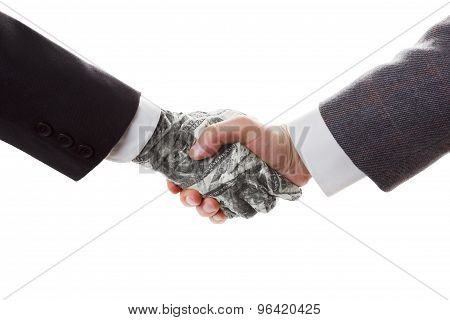 Business Concept -  Handshake, Conclusion Of The Transaction