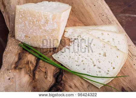 Slices Of Goat Cheese