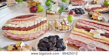 Delicatessen Meat With Salami