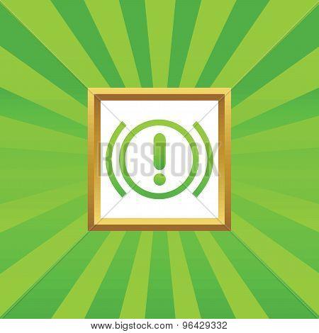 Alert picture icon