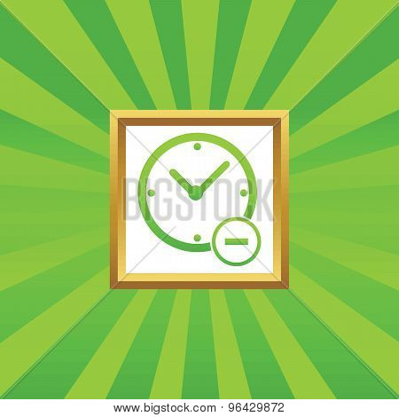 Reduce time picture icon