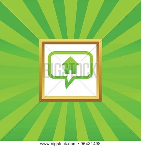 Home message picture icon