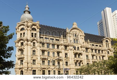 Old Architecture Of Frankfurt