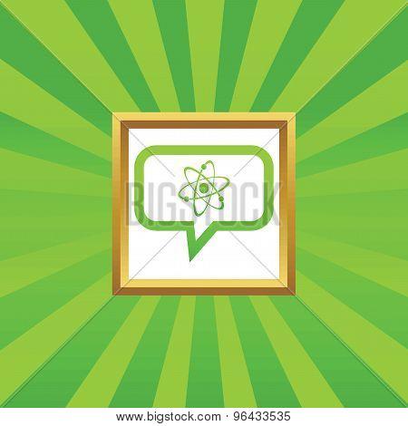 Atom message picture icon