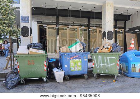Garbage Athens