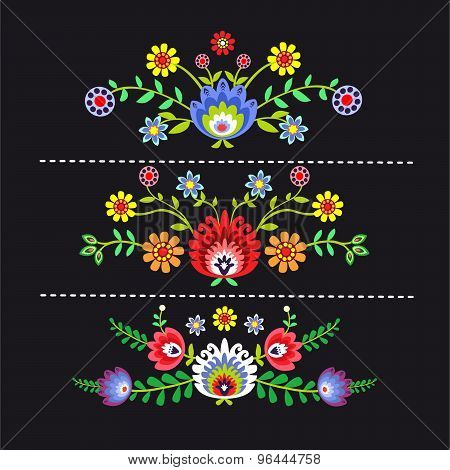 Folk pattern flowers-1