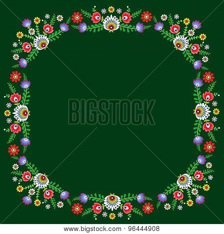 Folk pattern flowers-9