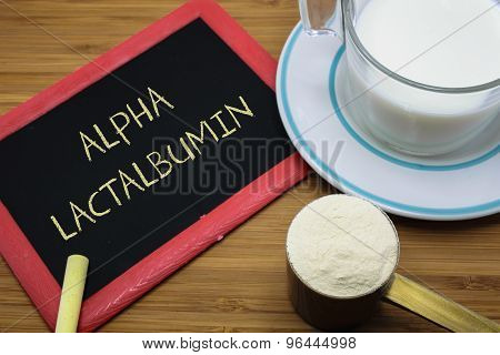 Concept Of Alpha-lactalbumin From Milk