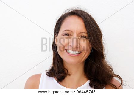 Smiling Mid Adult Woman