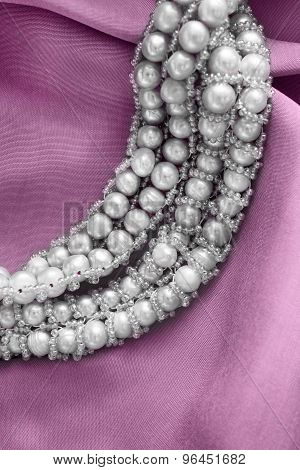 Pearl On Silk