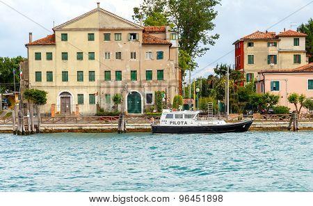 Venice. Pilot Boat.