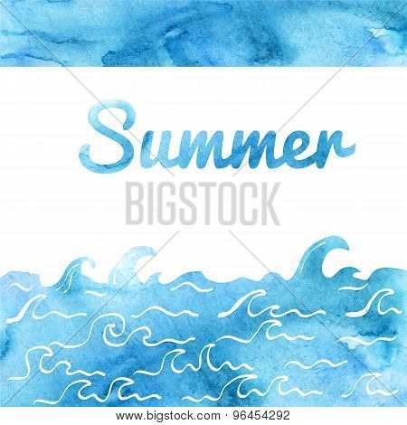 Summer Card Design
