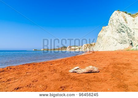 Xi Beach, Kefalonia Island, Greece