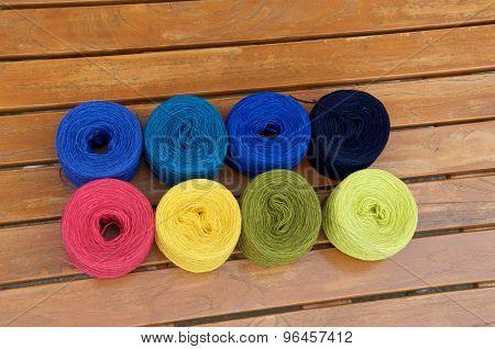 8 Balls Of Yarn