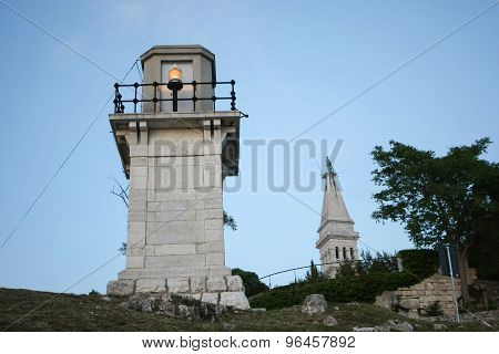 Lighthouse In Rovinj