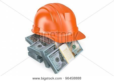 Hard Hat With Money