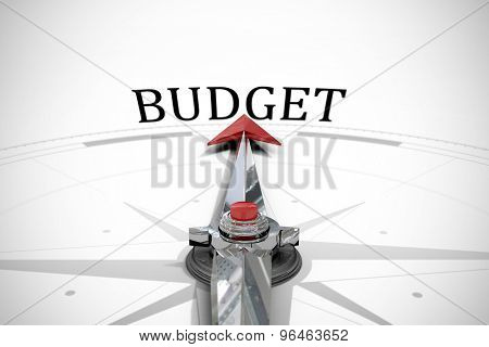 The word budget against compass