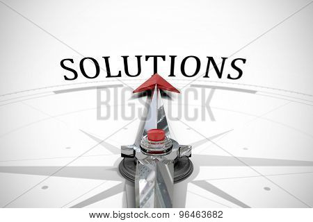 The word solutions against compass