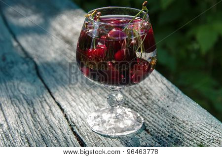 Cherry In A Glass
