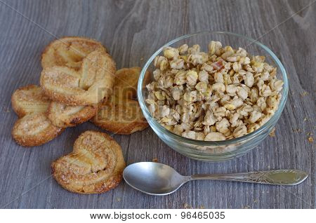 Cornflakes And Buiscits