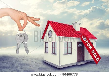 House for sale with keys