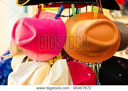 Summer Hats For Sale Outdoor
