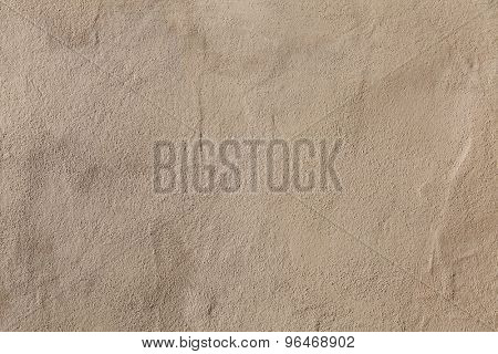 Beige stucco wall. Background texture.