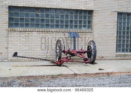 horse drawn sickle bar mower