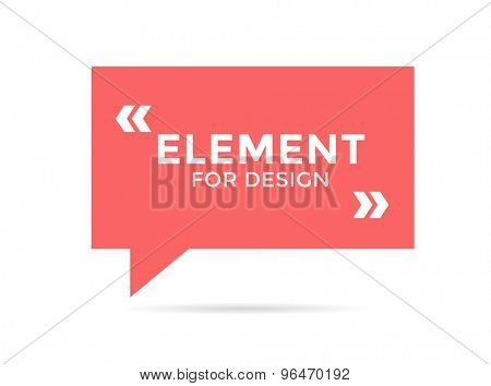 Inspirational quote. Motivation, inspiration, quote and note. Vector stock element for design
