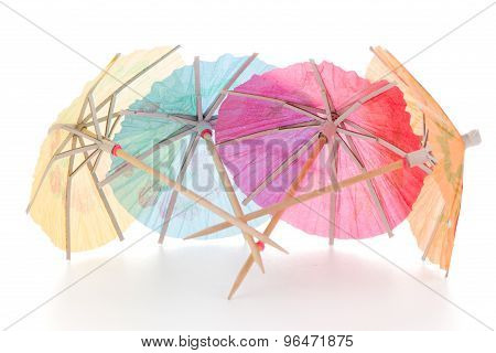 Paper Umbrellas For Cocktails
