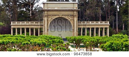 Spreckels Temple Of Music In Golden Gate Park San Francisco - California