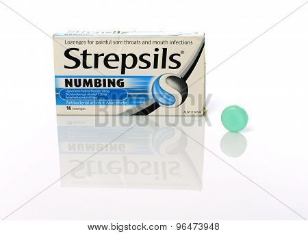 Strepsils Lozenges For Sore Throats