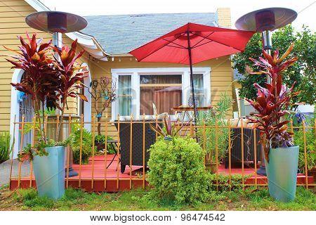 Front Yard Deck