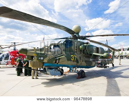 Military helicopter Mi-28N