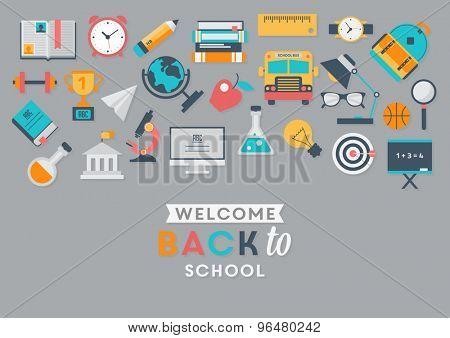 School and education illustration